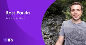Ross Parkin tworzący IFS Cloud